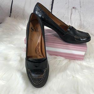 Oxford Classic Wingtip Comfort Heels